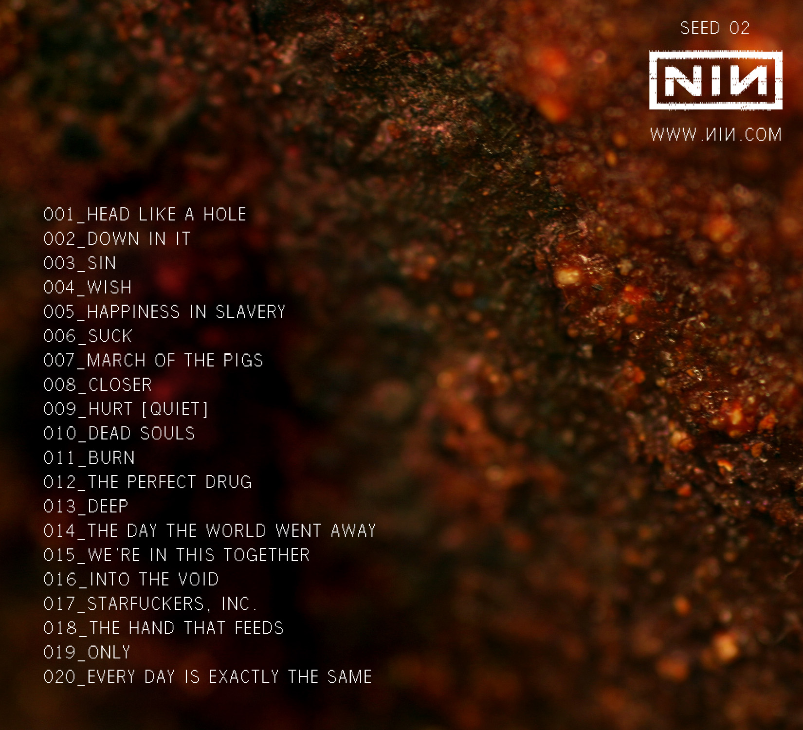Nine Inch Nails Megathread 2 - Redemption - - General Discussion - Forum